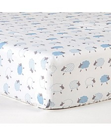 2 Piece Microfiber Crib Fitted Sheet