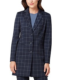 Plaid Topper Jacket