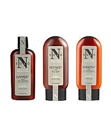 Solo Noir All Natural 3-Piece Facial Kit, 4 Oz
