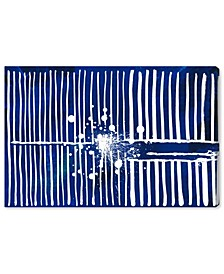 Love Forcefield Navy Velvet Canvas Art Collection