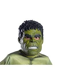 Avengers Adult Hulk Vinyl Mask