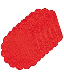 Round Placemat, Set of 6