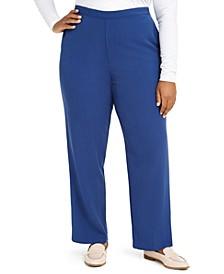 Plus Size Sapphire Skies Pull-On Pants