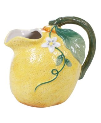 Citron 3-D Lemon Pitcher