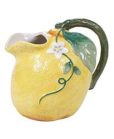 Citron 3-D Lemon Pitcher