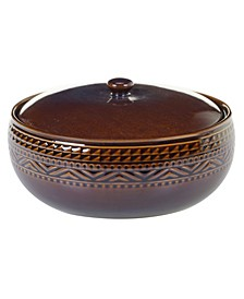 Aztec Brown Bean Pot