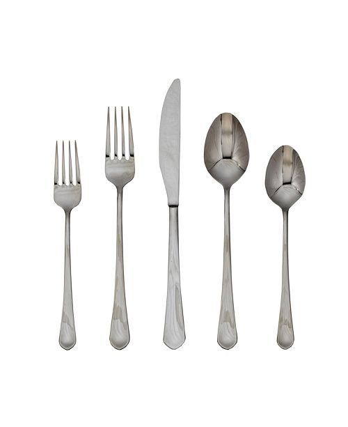 Cambridge Mae Mirror 45-Piece Flatware Set, Service for 8