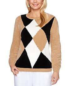 Classics Colorblocked Chenille Sweater