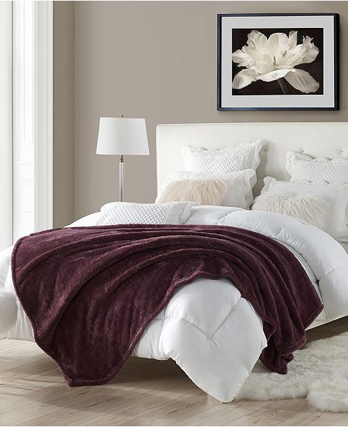 Cathay Home Inc. Oversize Faux Fur Throw