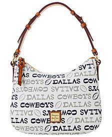 Dallas Cowboys Doodle Small Kiley Hobo