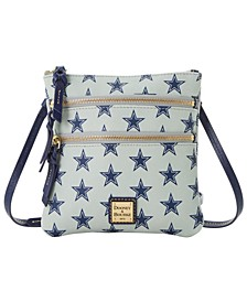 Dallas Cowboys Saffiano Triple Zip Crossbody