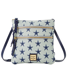 Dooney & Bourke Dallas Cowboys Saffiano Triple Zip Crossbody
