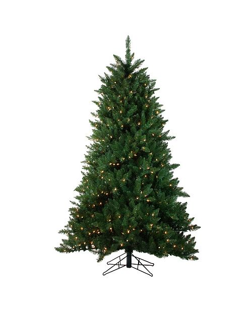 Northlight 12' Pre-Lit Montana Pine Artificial Christmas Tree - Clear Lights