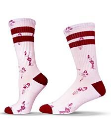 Unisex Americana Retro Pin-up Crew Socks