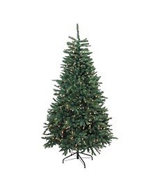 Pre-Lit Northern Pine Full Artificial Christmas Tree - Clear Lights