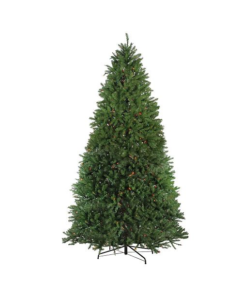 Northlight 12' Pre-Lit Northern Pine Full Artificial Christmas Tree - Multi Lights