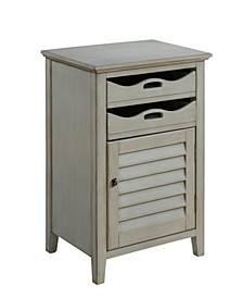 One Door/Two Drawer Cabinet, Quick Ship