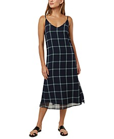 Juniors' Plaid Tank Dress