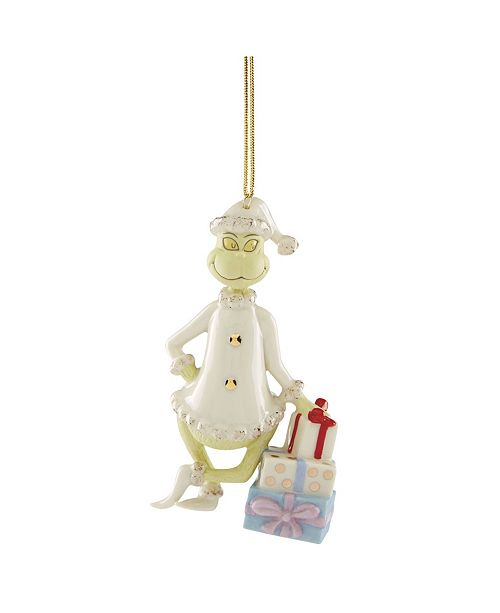 Lenox Grinchy Gifts Ornament