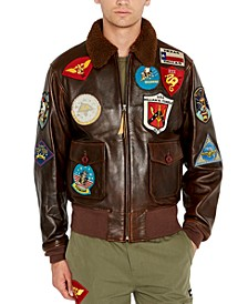 Men's Leather Top Gun Jacket