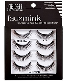 Faux Mink Lashes 812 4-Pack