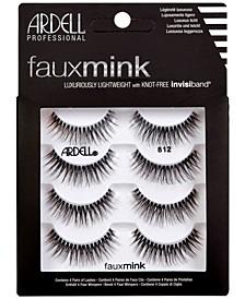Faux Mink Lashes 812 4-Pack