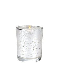 Aromatique White Teak Metallic Candle