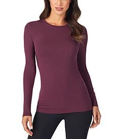 Women's  Softwear Stretch Long Sleeve Crew Shirt