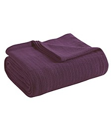 Classic Thermal Cotton Blanket - Twin