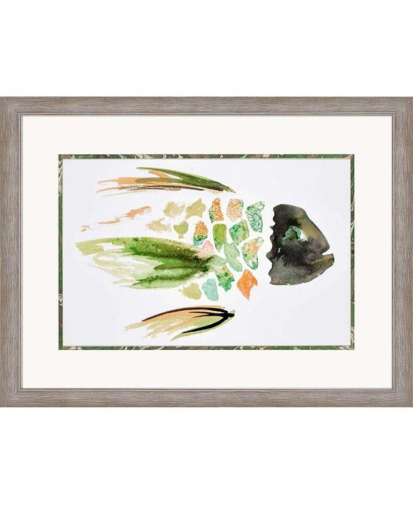 "Paragon Wahoo Watercolor I Framed Wall Art, 31"" x 42"""