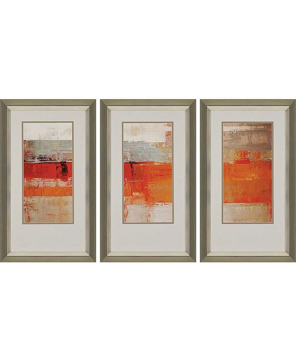 "Paragon Unsolar Framed Wall Art Set of 3, 39"" x 23"""