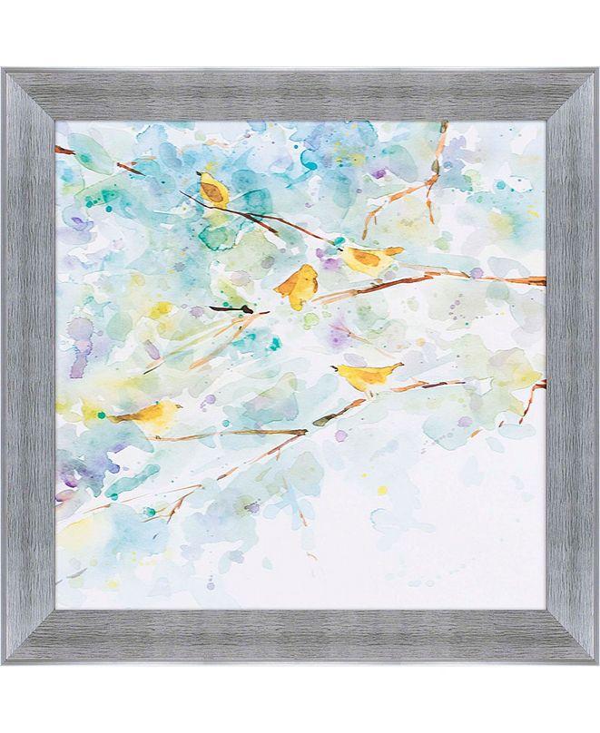 "Paragon Spring Song 2 Framed Wall Art, 31"" x 31"""