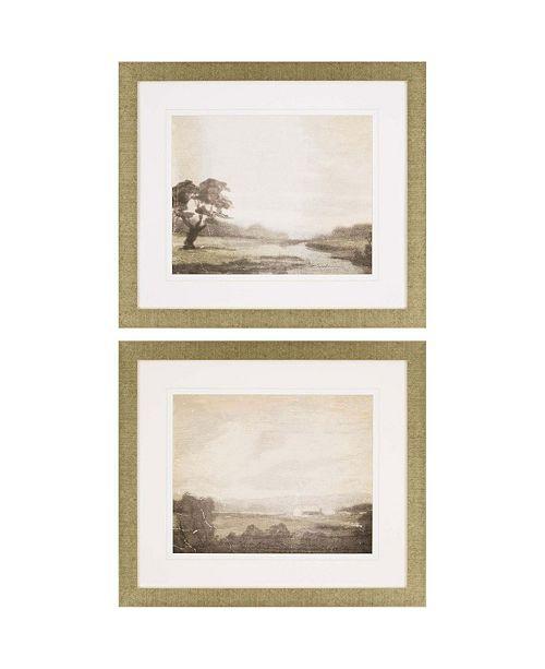 "Paragon Carolina Road I Framed Wall Art Set of 2, 27"" x 31"""
