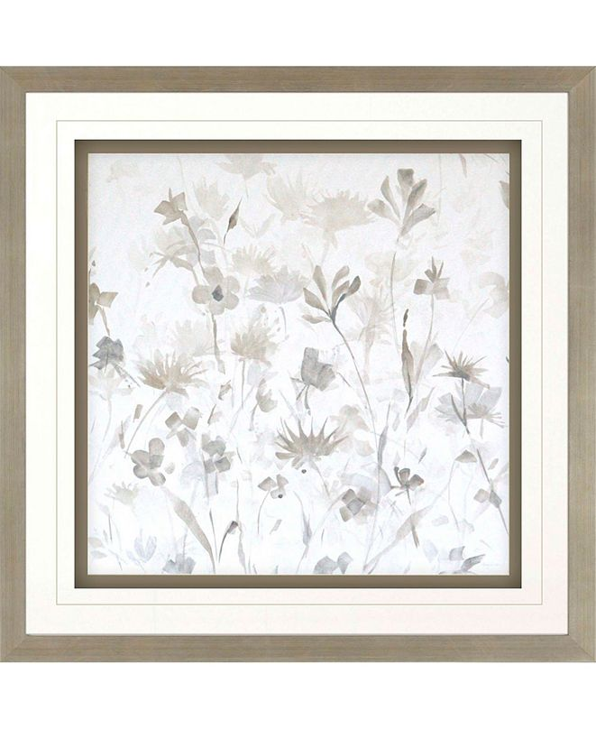 "Paragon Garden Shadows IV Framed Wall Art, 36"" x 36"""