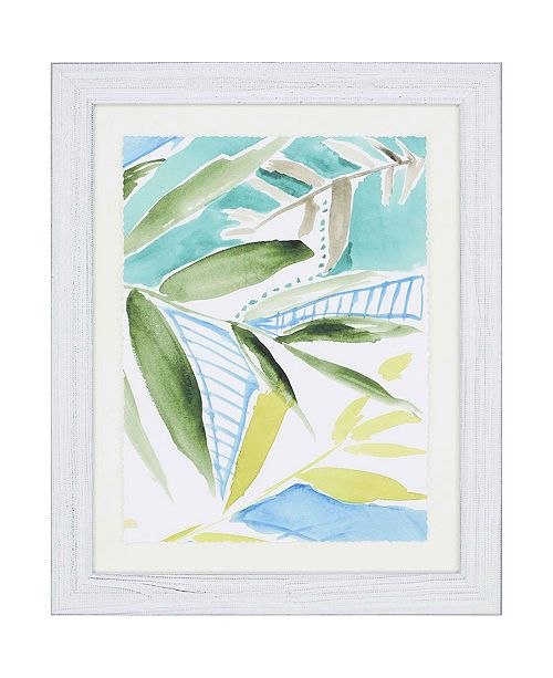 "Paragon Tropic Blue III Framed Wall Art, 33"" x 27"""