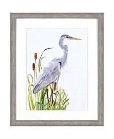 "Waterbirds I Framed Wall Art, 44"" x 36"""