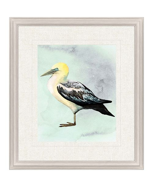 """Paragon Watercolor Beach Bird III Framed Wall Art, 31"""" x 27"""""""