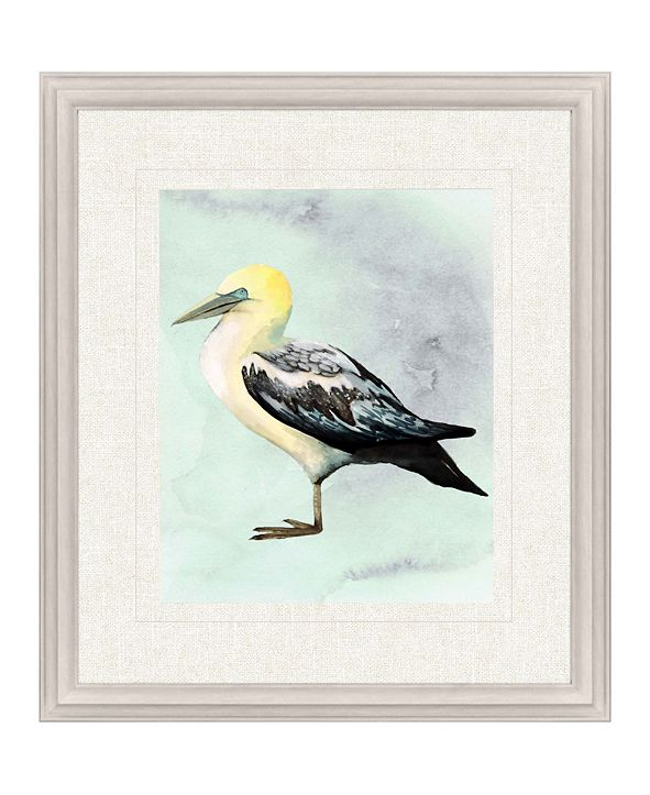 "Paragon Watercolor Beach Bird III Framed Wall Art, 31"" x 27"""