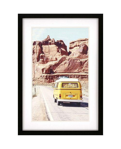 "Paragon Road Trip Framed Wall Art, 39"" x 27"""