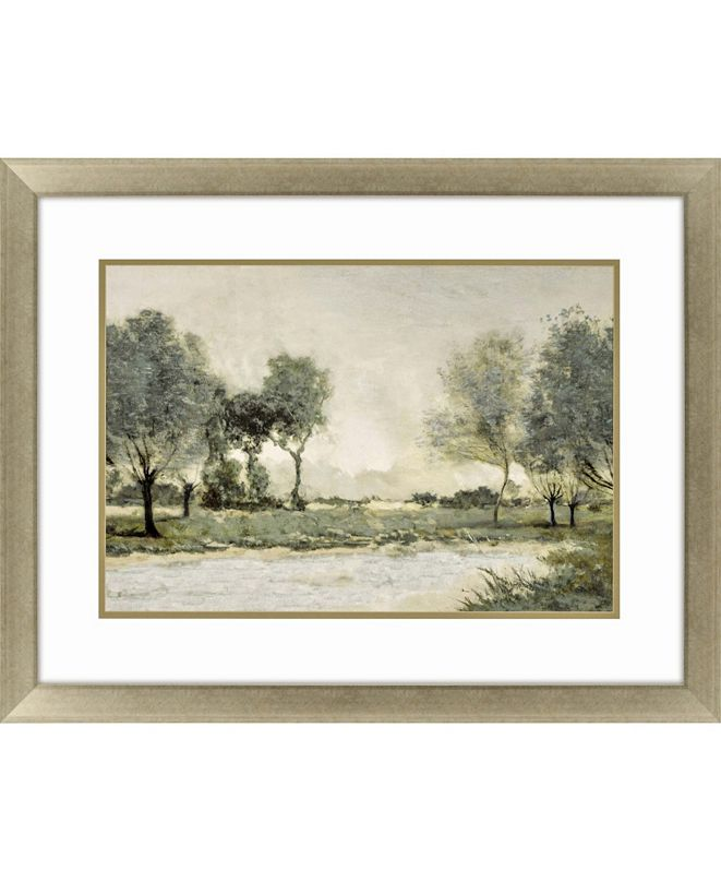 """Paragon By the Pond I Framed Wall Art, 39"""" x 51"""""""