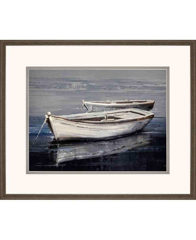 """Paragon Moored Together Framed Wall Art, 28"""" x 34"""""""