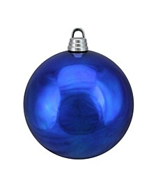 "Shiny Lavish Blue Shatterproof Christmas Ball Ornament 12"" 300mm"