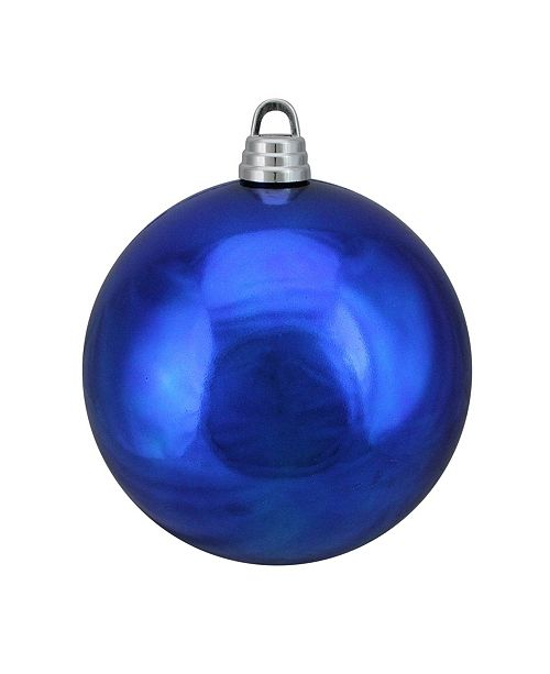 "Northlight Shiny Lavish Blue Shatterproof Christmas Ball Ornament 12"" 300mm"