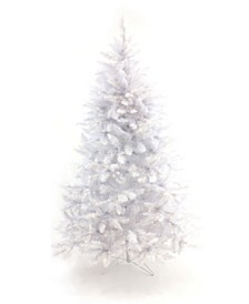 Pre-Lit White Christmas Tree with Warm White LED Lights Collection