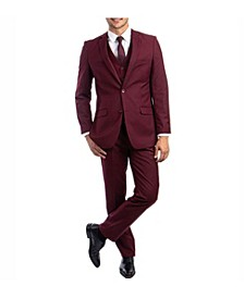 Men's Slim Fit Notch Lapel Suit