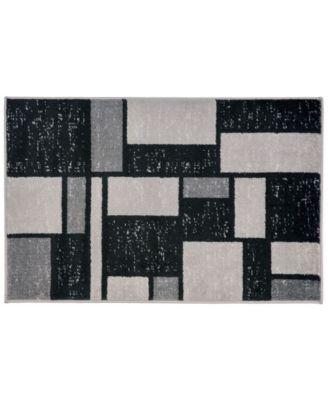 Alba Alb308 Gray 2' x 3' Area Rug