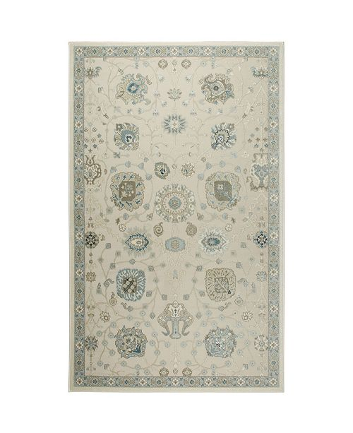 Shabby Chic  Chandler Aster Ivory Area Rug Collection