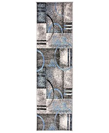 Home Elko Elk960 Gray 2' x 7' Runner Rug
