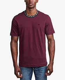 Men's Jacquard Rib T-Shirt