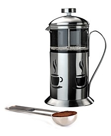 Studio Collection Stainless Steel 2-Pc. French Press